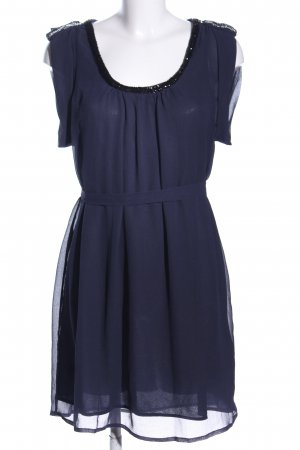 Soaked in luxury Abito blusa blu elegante