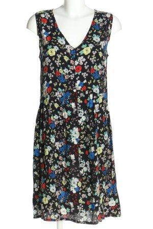 Soaked in luxury Abito blusa motivo floreale stile casual
