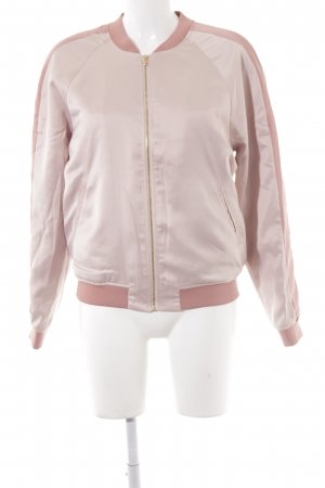 Soaked in luxury Giacca bomber rosa antico-rosa Stampa a tema effetto bagnato