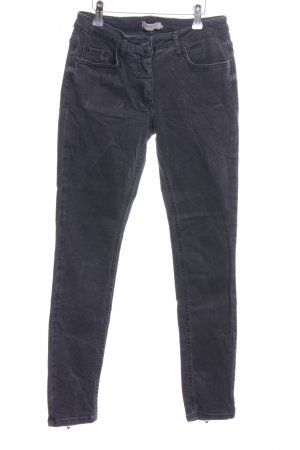 Soaked in luxury Hoge taille jeans zwart casual uitstraling