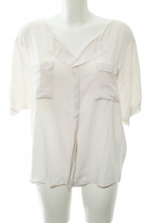 Soaked in luxury Kurzarm-Bluse creme Casual-Look