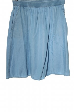 Soaked in luxury Minigonna blu stile casual