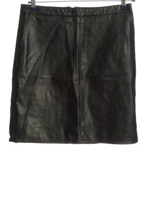 Soaked in luxury Minigonna nero elegante