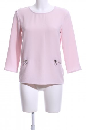Soaked in luxury Schlupf-Bluse pink Business-Look