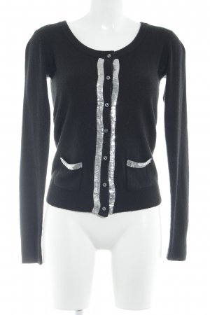 Soaked in luxury Giacca in maglia nero stile casual