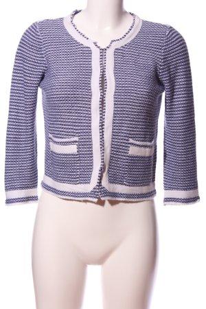 Soaked in luxury Maglione lavorato a maglia blu-bianco sporco modello web