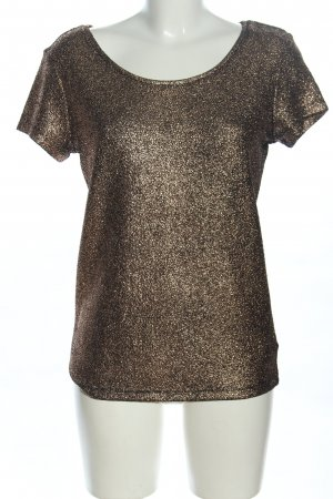 Soaked in luxury Strickshirt bronzefarben Casual-Look