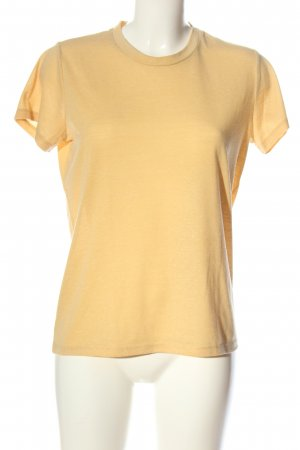 Soaked in luxury T-shirt giallo pallido stile casual