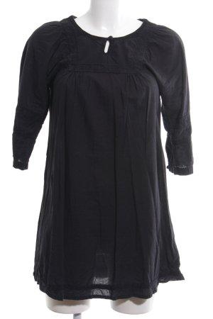 Soaked in luxury Abito a tunica nero stile casual