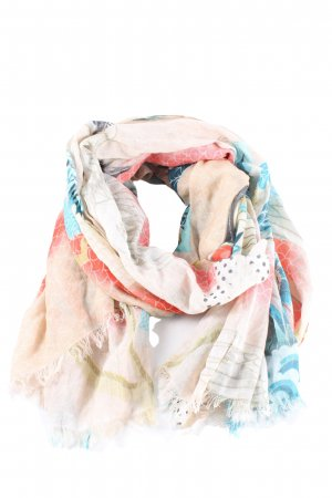 SOAMAS BY KRYSTALL Fringed Scarf multicolored casual look