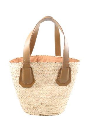 SOAMAS BY KRYSTALL Shopper blanc cassé-brun style décontracté