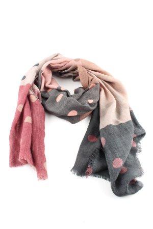 SOAMAS BY KRYSTALL Écharpe en laine motif de tache style décontracté