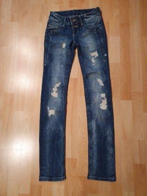 Soccx Low Rise Jeans blue