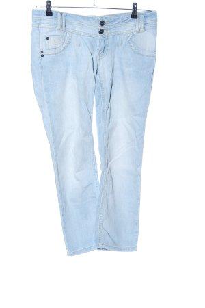 Soccx Jeans a 7/8 blu stile casual