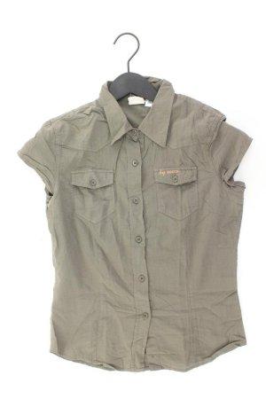 Soccx Bluse Größe S olivgrün aus Baumwolle