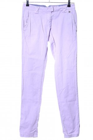Soccx Chinohose lila Casual-Look