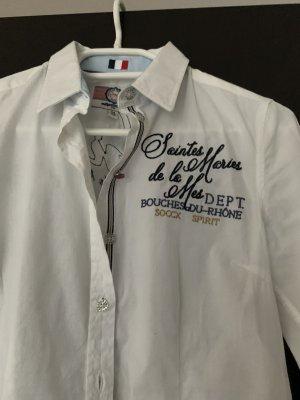 Soccx Long Sleeve Blouse white