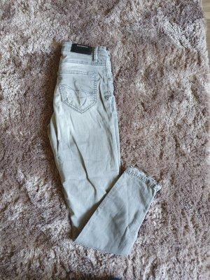 Soccx Tube Jeans light grey
