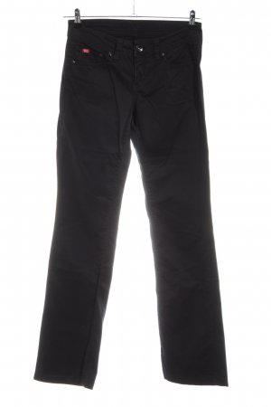 Soccx Five-Pocket-Hose schwarz Casual-Look