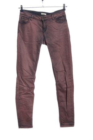 Soccx Five-Pocket-Hose lila Farbverlauf Casual-Look
