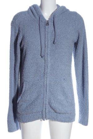 Soccx Polarowy sweter niebieski W stylu casual