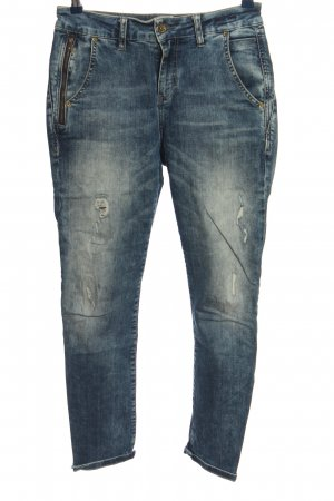 Soccx High Waist Jeans blau Casual-Look
