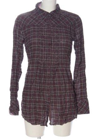 Soccx Holzfällerhemd schwarz-hellgrau Streifenmuster Casual-Look
