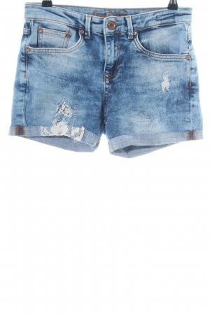 Soccx Hot Pants blau Casual-Look