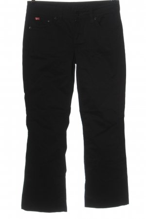 Soccx Low-Rise Trousers black casual look