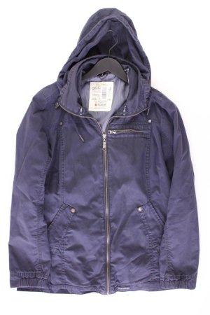 Soccx Jacket blue-neon blue-dark blue-azure cotton