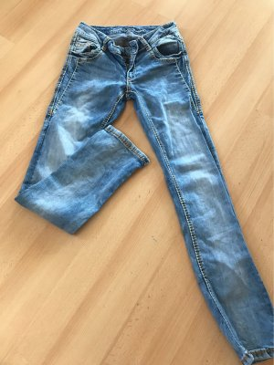 Soccx Stretch Jeans azure-cornflower blue