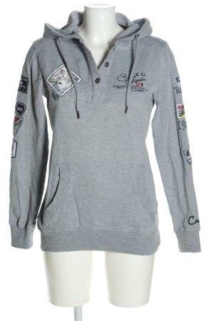 Soccx Bluza z kapturem Melanżowy W stylu casual
