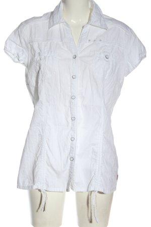 Soccx Camicia a maniche corte bianco elegante