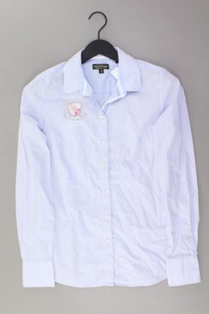Soccx Long Sleeve Blouse blue-neon blue-dark blue-azure cotton
