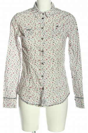 Soccx Langarmhemd Allover-Druck Casual-Look