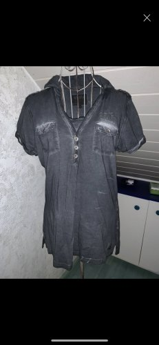 Soccx Polo shirt donkergrijs