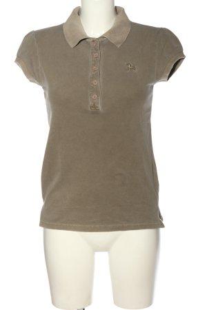 Soccx Polo marrone stile casual