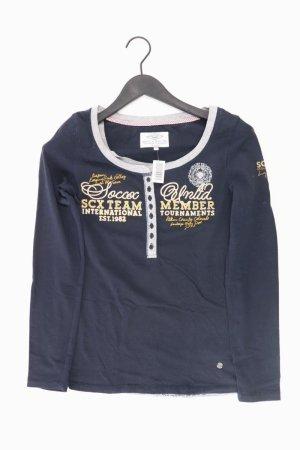 Soccx Shirt Größe S blau aus Baumwolle