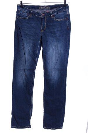 Soccx Slim Jeans blau Casual-Look