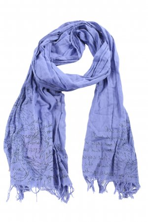 Soccx Summer Scarf lilac-black themed print casual look