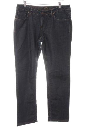Soccx Jeans met rechte pijpen donkerblauw casual uitstraling