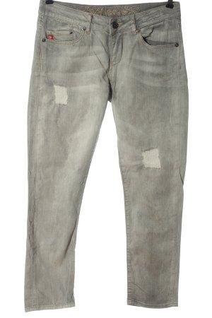 Soccx Jeans elasticizzati grigio chiaro stile casual