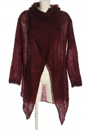 Soccx Strick Cardigan rot Casual-Look