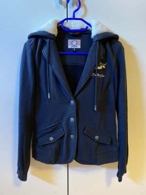 Soccx Blazer sweat blu scuro