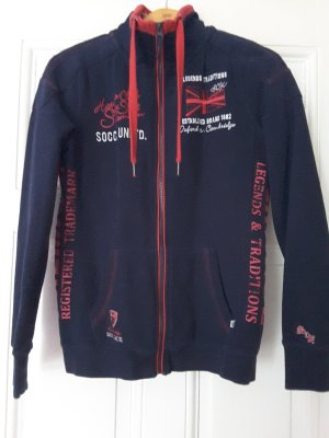 Soccx Shirt Jacket dark blue