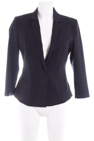 Soccx Blazer in tweed blu scuro stile professionale