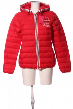 Soccx Winter Jacket red quilting pattern casual look