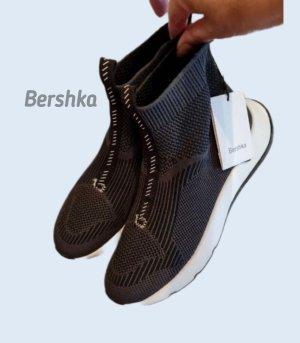 Sock Sneakers von Bershks Schwarz Gr. 37 Frühling Sommer Look Neu