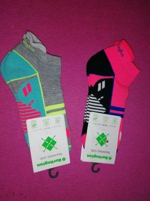 Burlington Lace-Up Sneaker pink