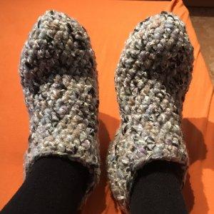 Unikat Knitted Gloves light grey-grey
